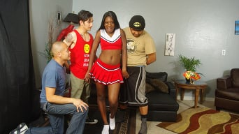 Kay Love in 'Black Cheerleader Gang Bang 27'